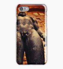 naked man iPhone Case/Skin