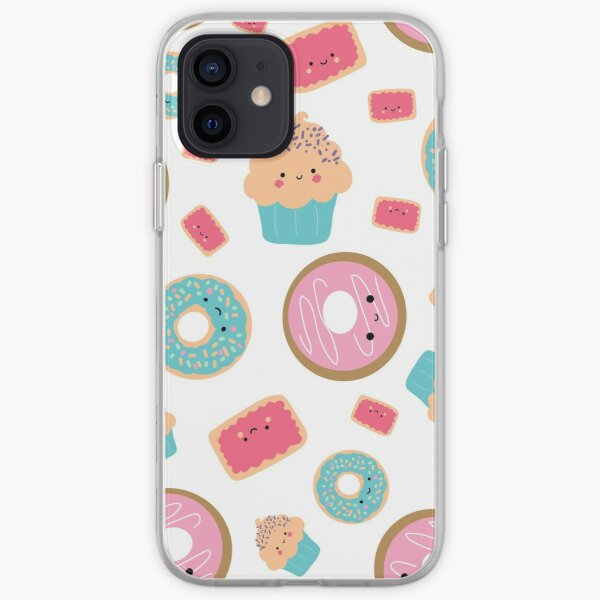Sweets are Sweet White Cakes 6 iPhone Soft Case