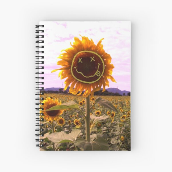 Sunflower smile Spiral Notebook