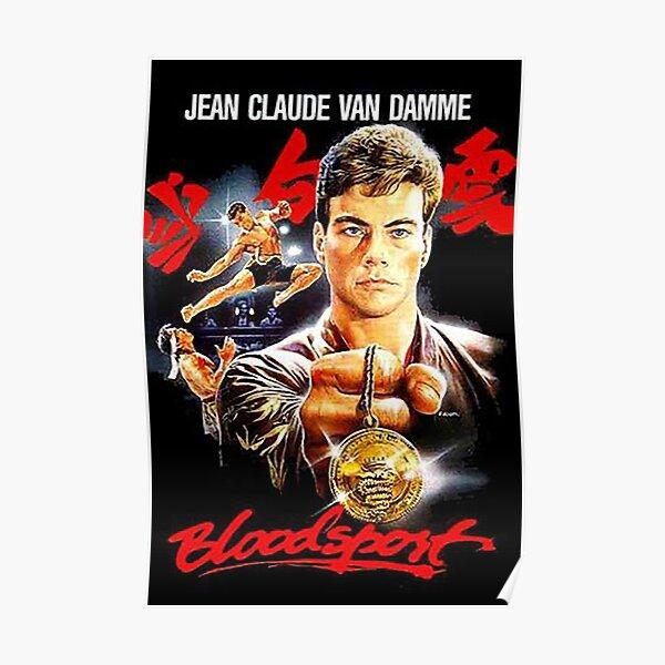 Bloodsport - Jean Claude Van Damme Frank Dux Poster
