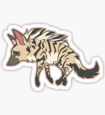 aardwolf [Erdwolf] Sticker