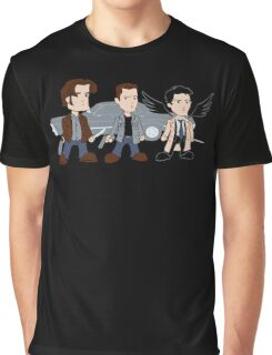 Sam, Dean, Castiel Graphic T-Shirt