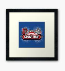 Inspector Spacetime Blorgon Edition Framed Print