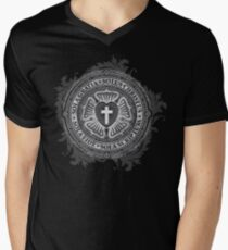 Luther Rose Christian Luther Seal Men's V-Neck T-Shirt