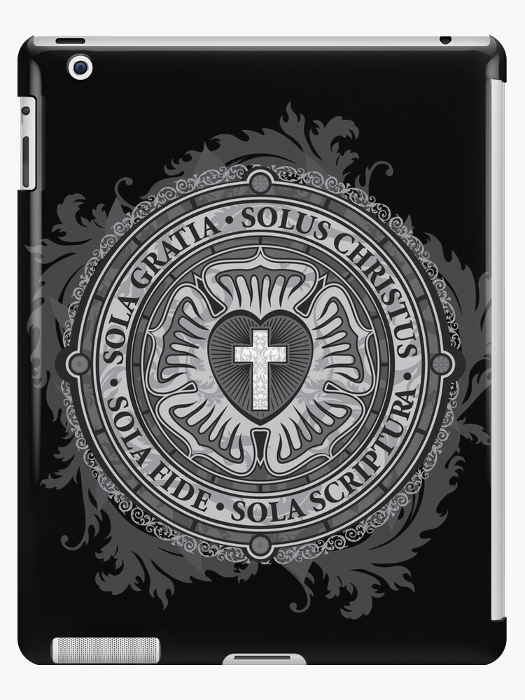Luther Rose Christian Luther Seal Ipad Cases Skins By Carl Huber
