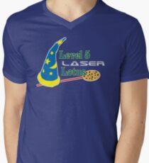 Level 5 Laser Lotus Men's V-Neck T-Shirt