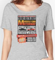 MuscleCar Motorway - Winchesters Vs Dukes Women's Relaxed Fit T-Shirt