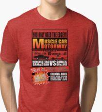 MuscleCar Motorway - Winchesters Vs Dukes Tri-blend T-Shirt