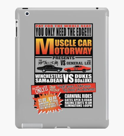 MuscleCar Motorway - Winchesters Vs Dukes iPad Case/Skin