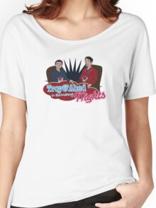 Troy and Abed in the Morning... NIGHTS! Women's Relaxed Fit T-Shirt