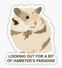 Cute Hamster Sticker
