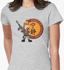 Hero of Canton Women's Fitted T-Shirt