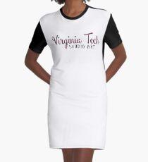 Virginia Tech Studio Art Graphic T-Shirt Dress