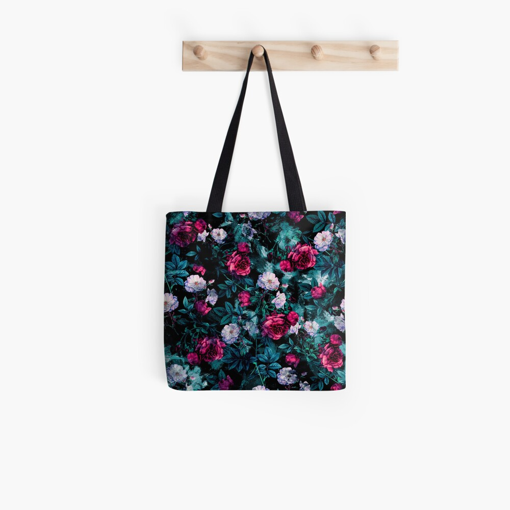 RPE FLORAL ABSTRACT III Tote Bag