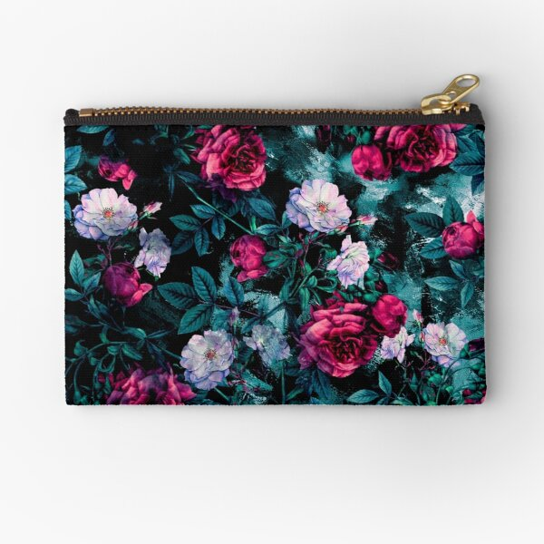 RPE FLORAL ABSTRACT III Zipper Pouch