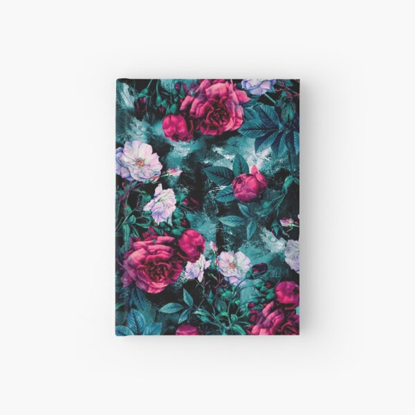 RPE FLORAL ABSTRACT III Hardcover Journal