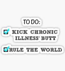 Rule The World Sticker