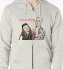 Absolutely Fabulous Zipped Hoodie