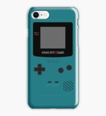 Game Boy Teal iPhone Case/Skin