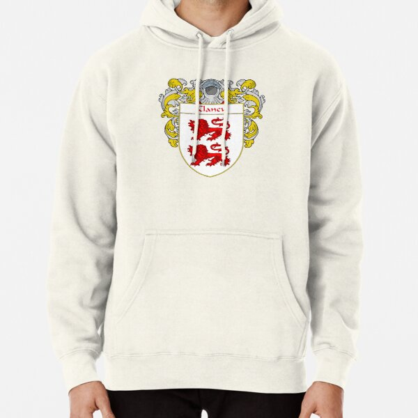 Clancy Coat of Arms/Family Crest Pullover Hoodie
