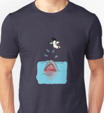 Jetpack Penguin Unisex T-Shirt