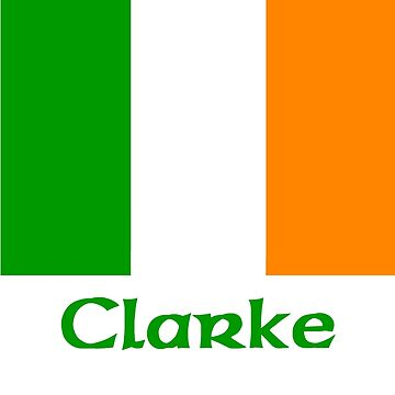 Clarke Irish Flag by IrishArms