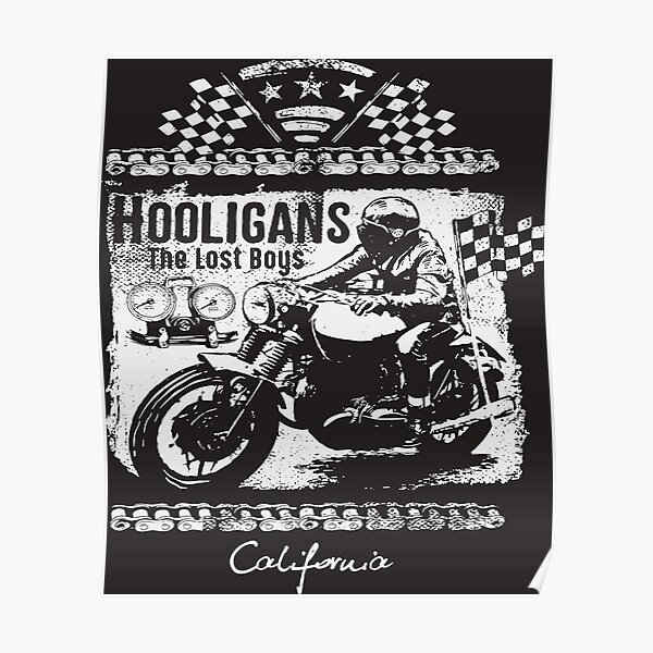 Size Reproduction Hooligan Poster 12 x 12