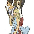 Slayer Girls by Inkscribble