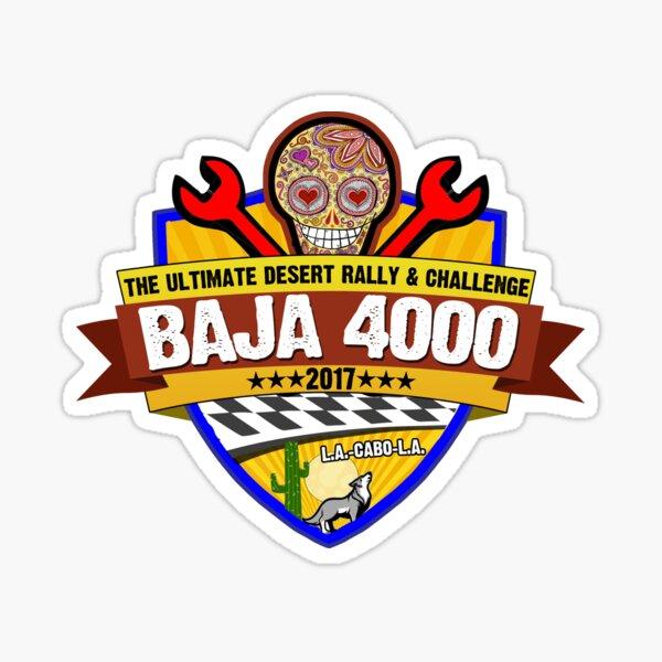 Baja 4000 Official Logo Merchandise Sticker