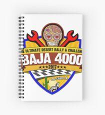 Baja 4000 Official Logo Merchandise Spiral Notebook