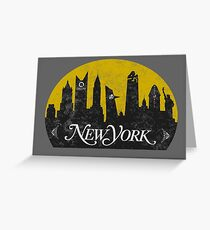New York (The Cities of Comics) Greeting Card