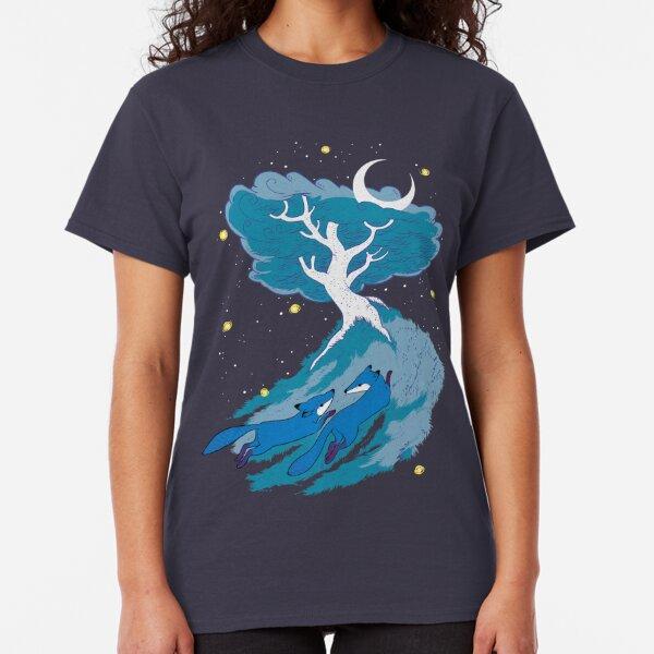 Moonlight Foxes Classic T-Shirt