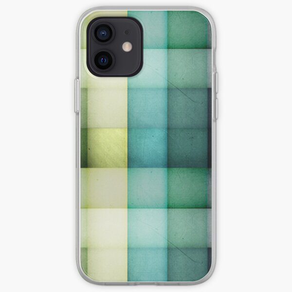 Colored squares iPhone Soft Case