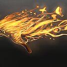 Fire Cat by Cassandra Aponte