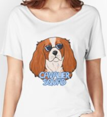 CAVALIER SQUAD (blenheim) Women's Relaxed Fit T-Shirt