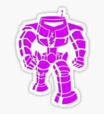 Manbot - Purple Variant Sticker