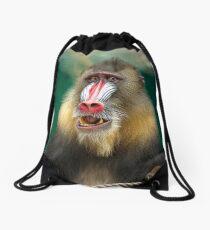 Mandril Baboon Drawstring Bag
