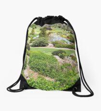 Japanese Gardens, Cowra Drawstring Bag