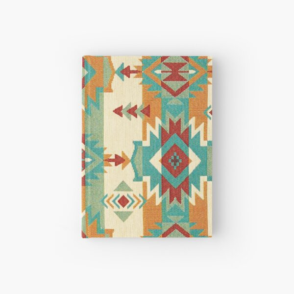 Tribal, Native American, Ethnic Icons and Symbols Hardcover Journal