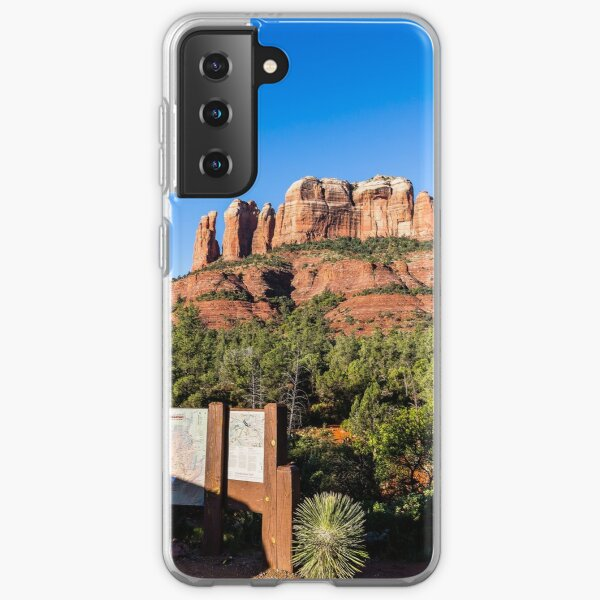 Cathedral Rock - And So The Trail Begins! Samsung Galaxy Soft Case