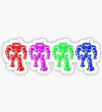 Manbot - Multi Bot Variant Sticker