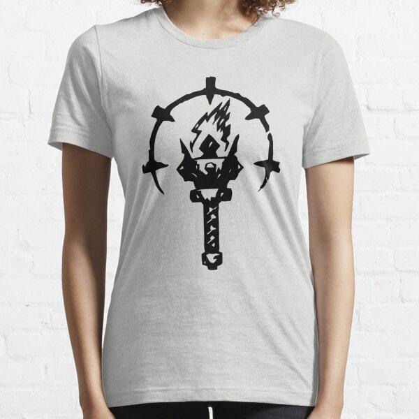 Antorcha coronada de hierro Camiseta esencial