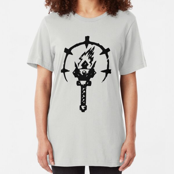 Iron Crowned Torch Slim Fit T-Shirt