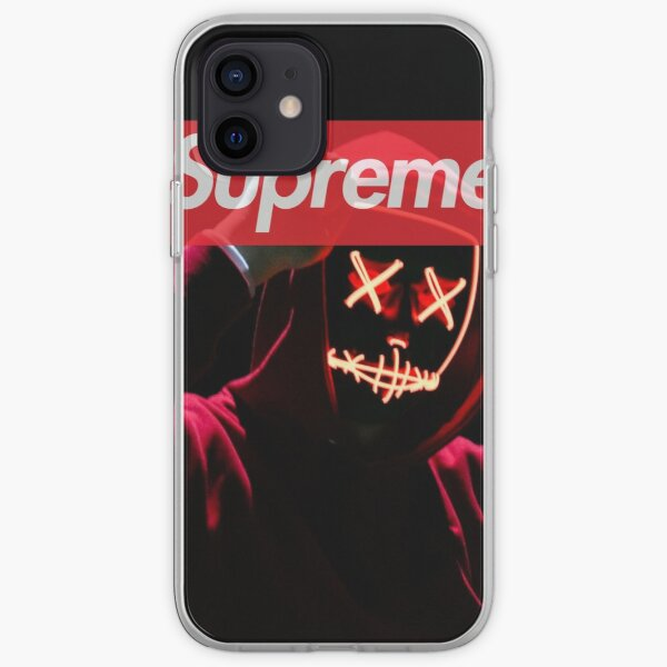 red hoodie  iPhone Soft Case