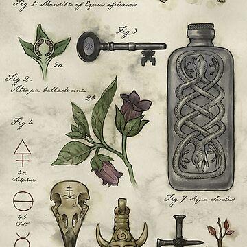 (Super)natural History - Hunter's artefacts by BelovedOddities