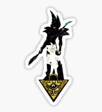 """Yu-Gi-Oh"" Fan Art (Yugi Muto / Dark Magician) Sticker"