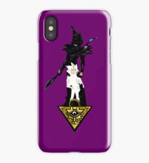 """Yu-Gi-Oh"" Fan Art (Yugi Muto / Dark Magician) iPhone Case/Skin"