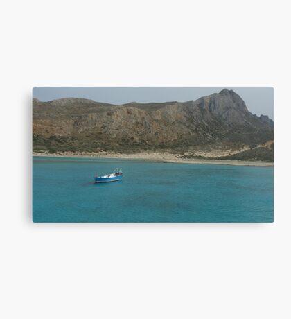 Balos Lagoon Canvas Print