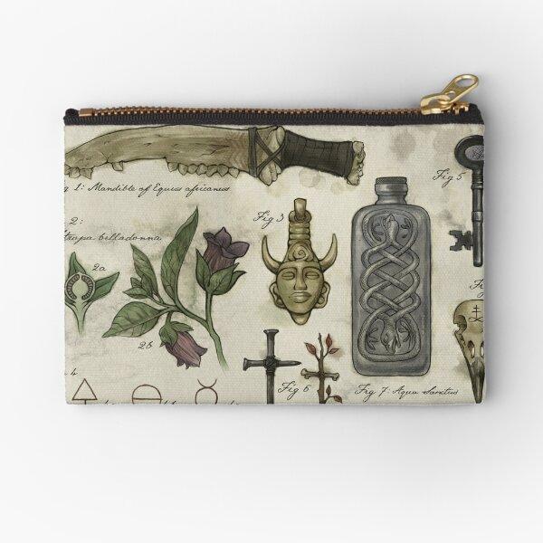 (Super)natural History - Hunter's artefacts Zipper Pouch