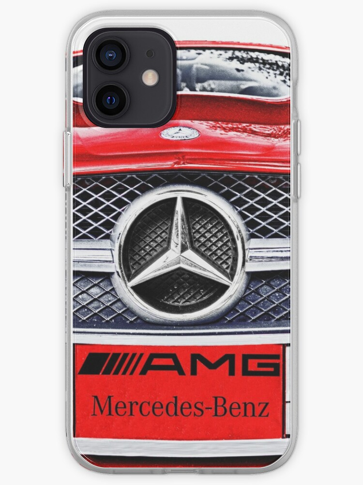 MERCEDES BENZ AMG ROUGE | Coque iPhone